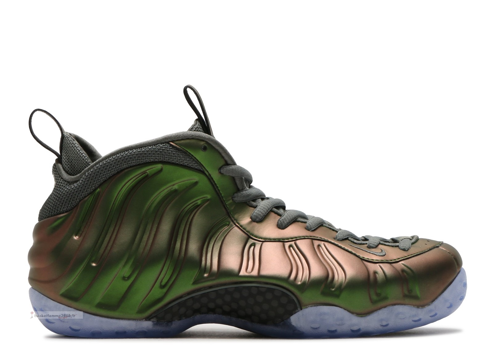 Nike Air Foamposite One Femme Vert Or (aa3963-001) Chaussure de Basket