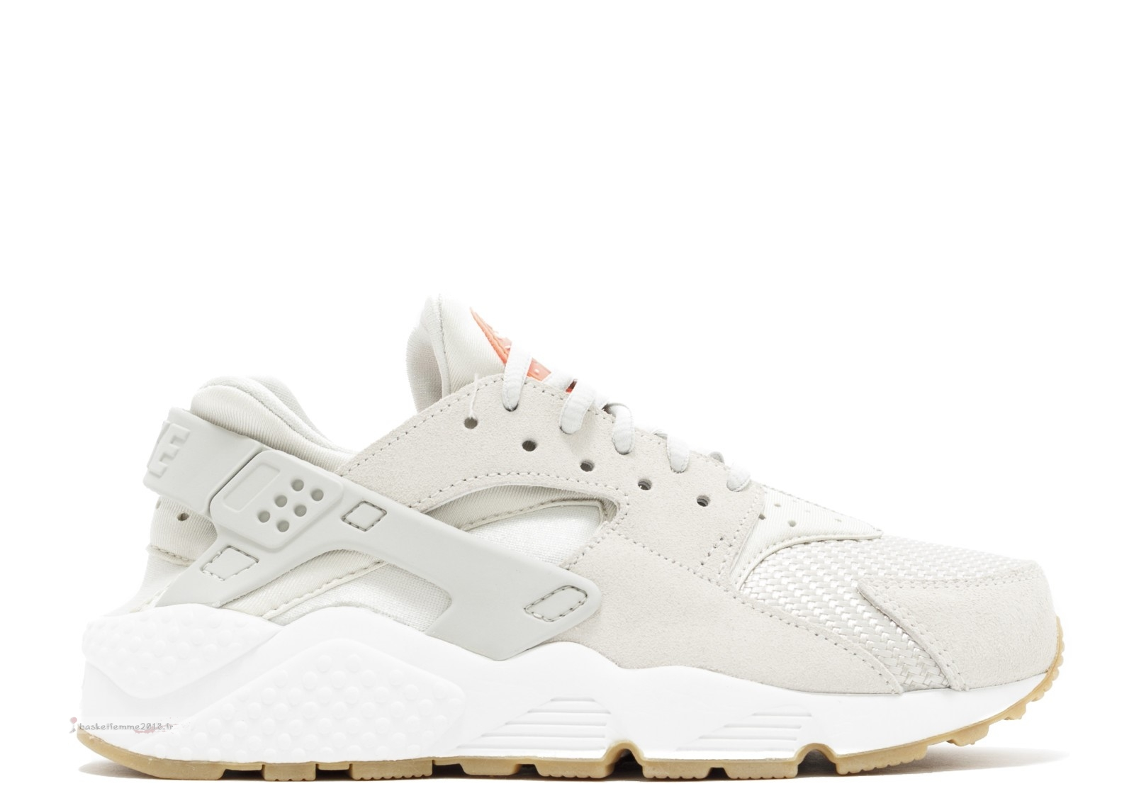 Nike Air Huarache Run Femme Txt Beige (818597-001) Chaussure de Basket