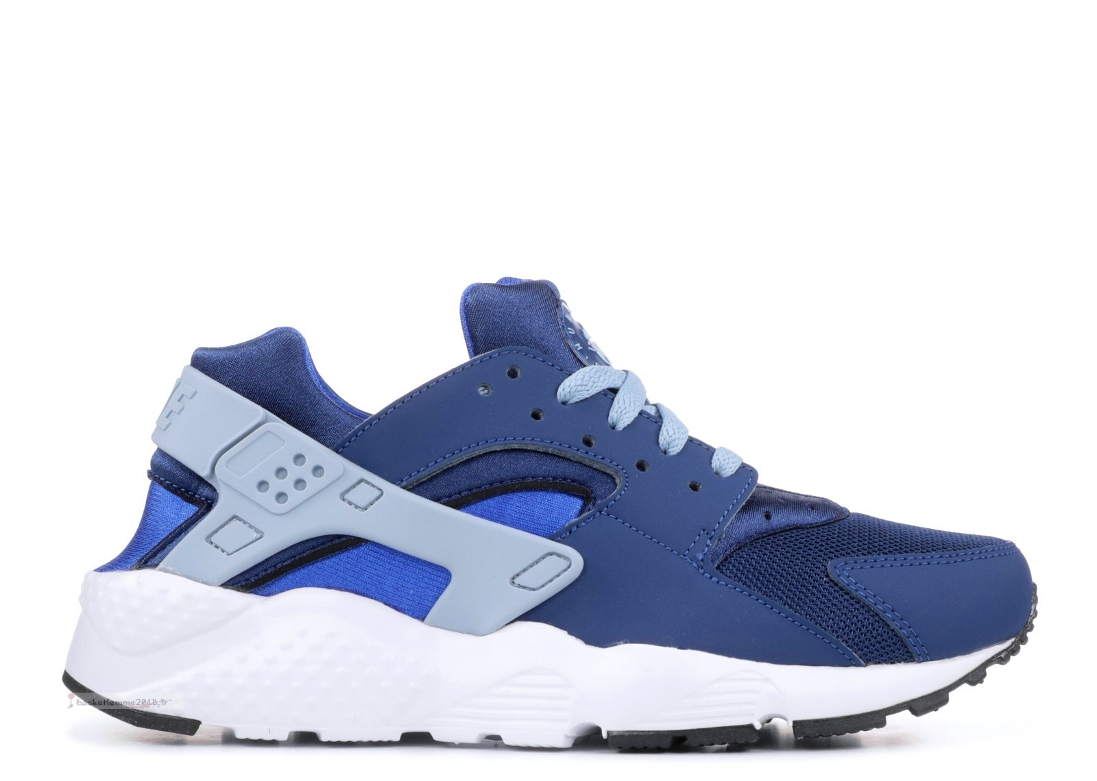 Nike Air Huarache Run Gs Marine (654275-406) Chaussure de Basket