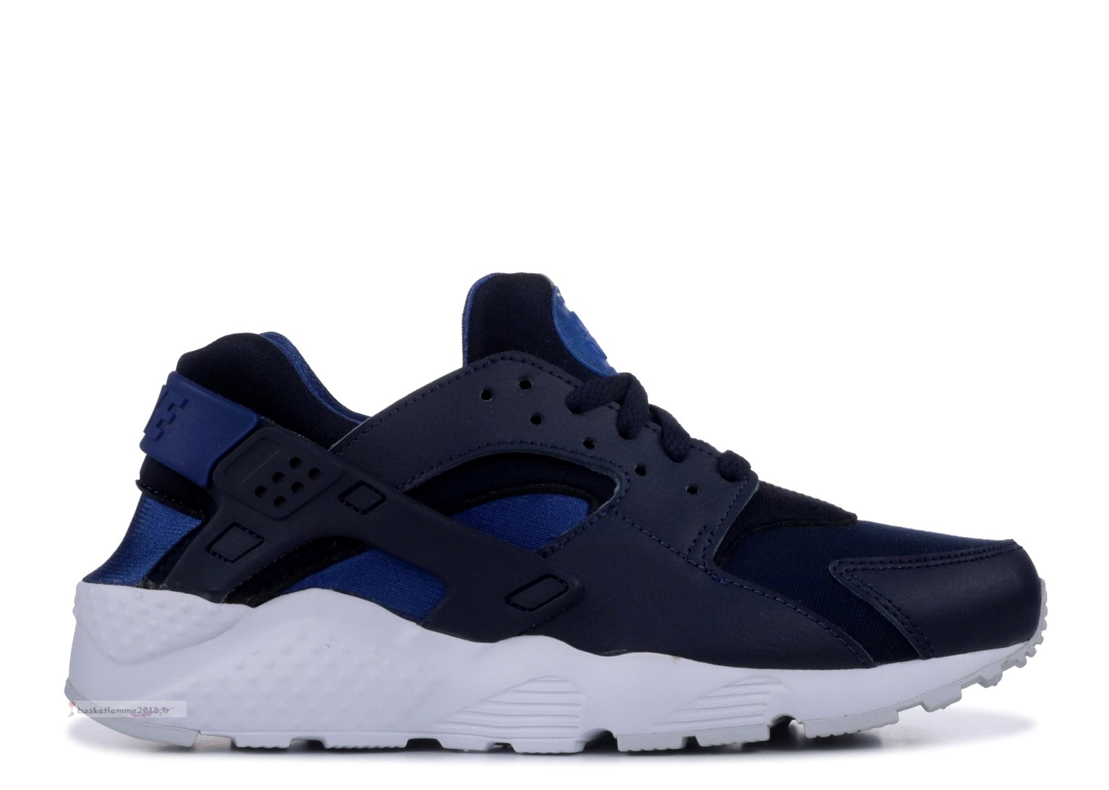 Nike Air Huarache Run (Gs) Marine (654275-414) Chaussure de Basket