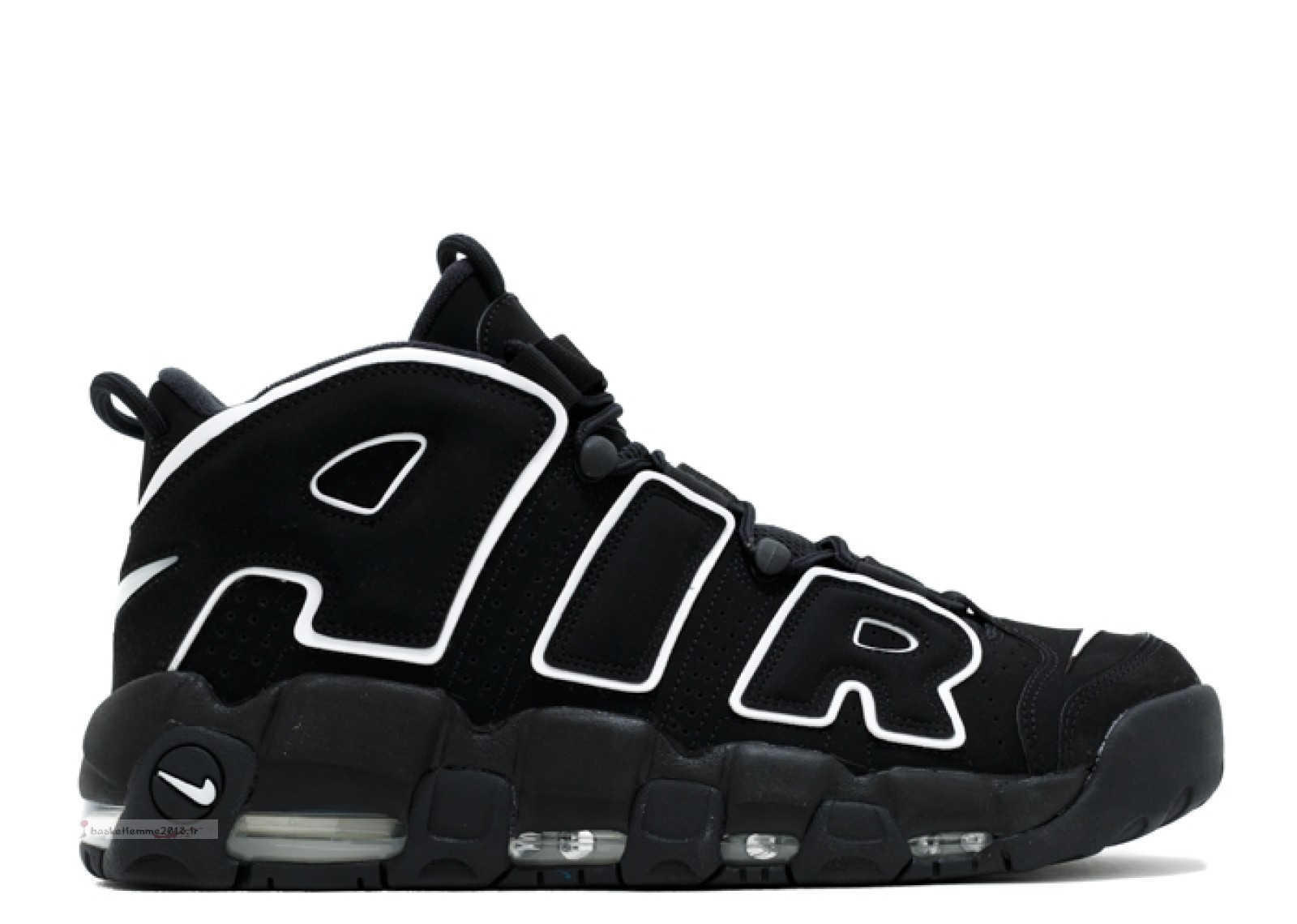 "Nike Air More Uptempo ""2016 Release"" Noir (414962-002) Chaussure de Basket"