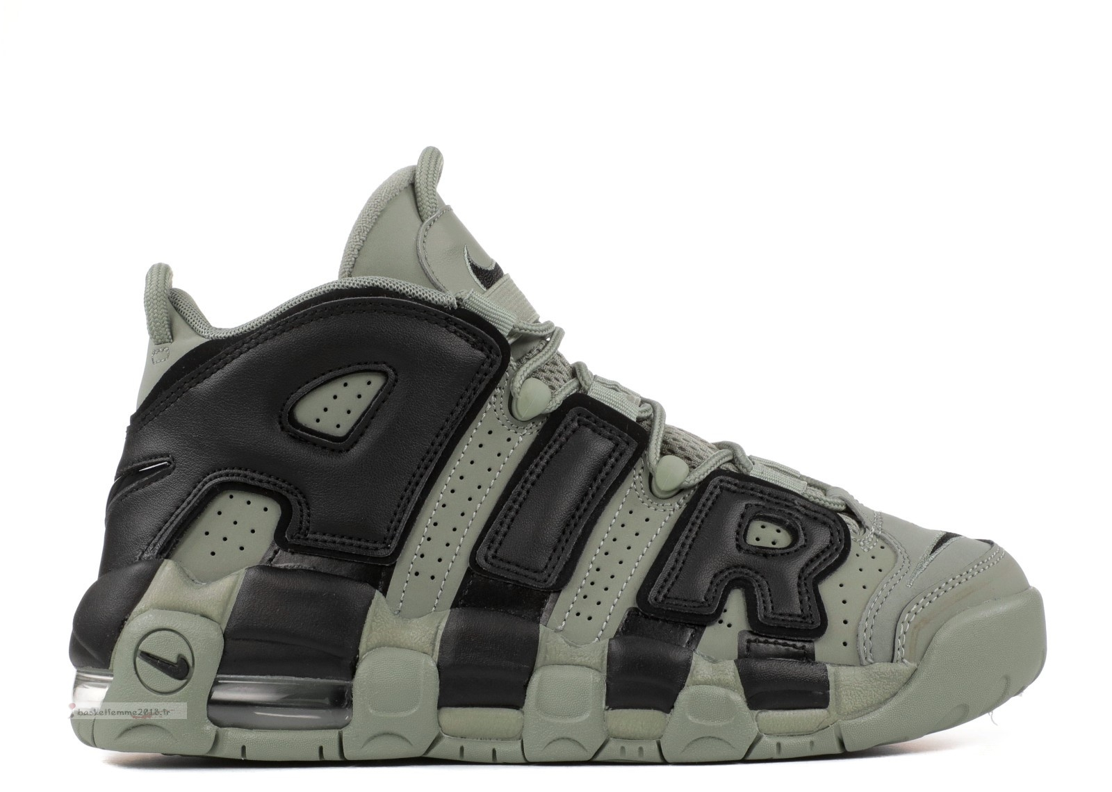 Nike Air More Uptempo (Gs) Olive (415082-007) Chaussure de Basket