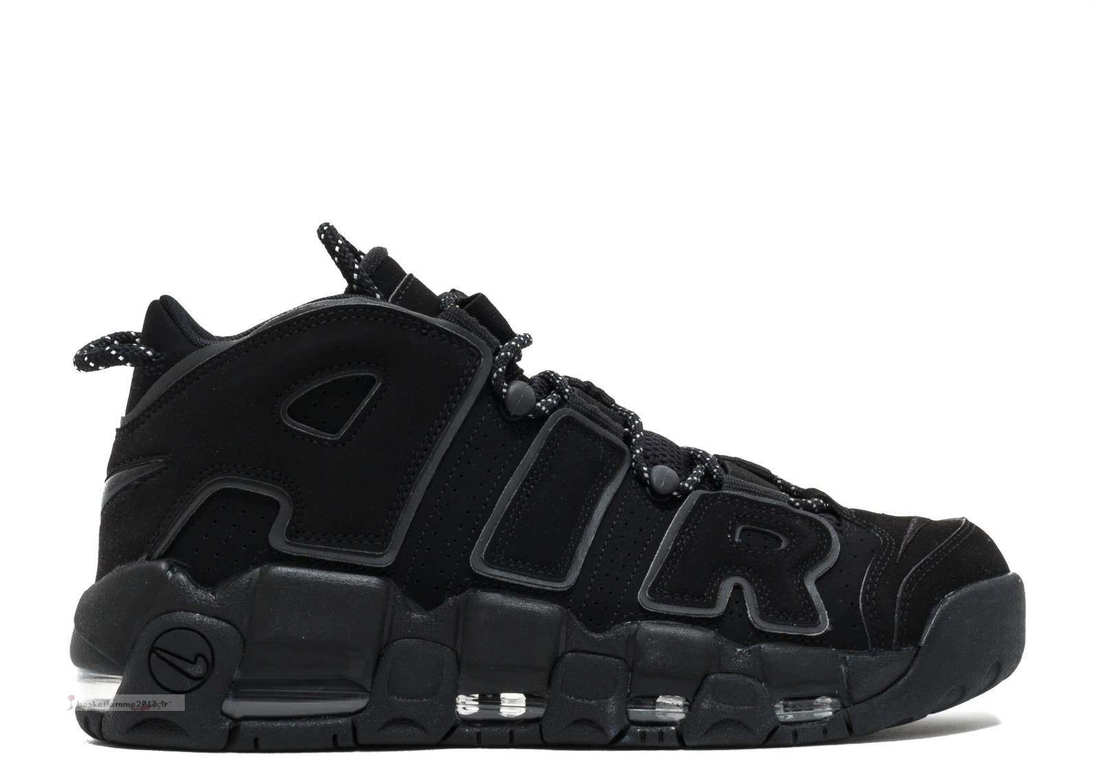 "Nike Air More Uptempo ""Noir Reflective"" Noir (414962-004) Chaussure de Basket"
