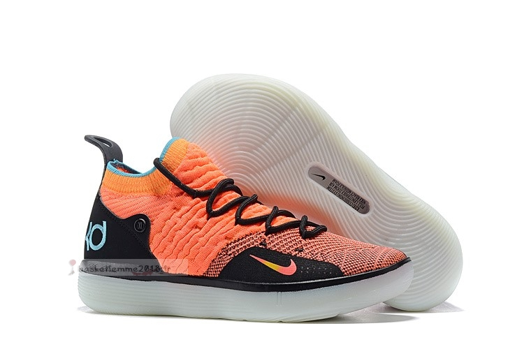 "Nike Kd Xi 11 ""The Academy"" Orange Noir Chaussure de Basket"