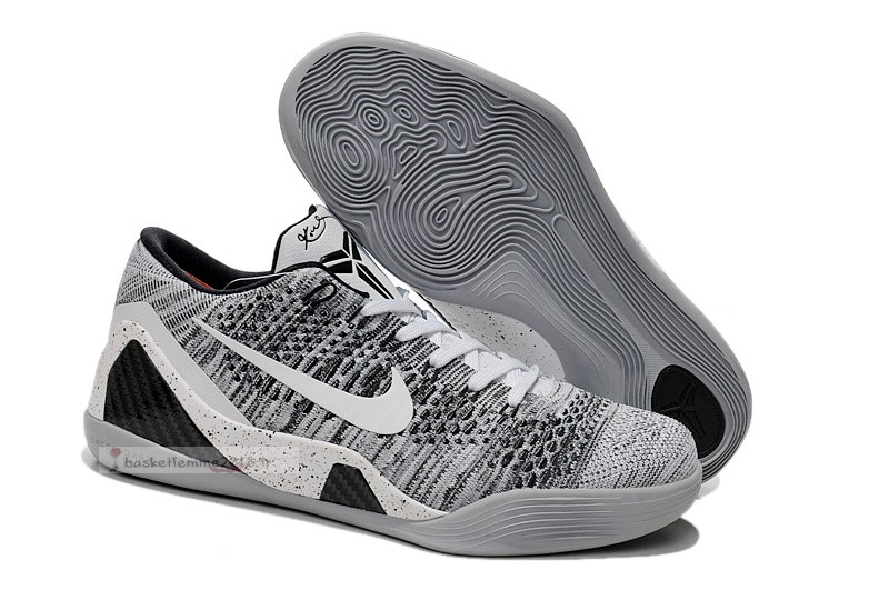 "Nike Kobe Ix 9 Elite Low ""Beethoven"" Gris Chaussure de Basket"