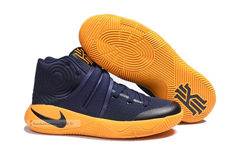 "Nike Kyrie Irving Ii 2 Femme ""Cavs"" Marine Or Chaussure de Basket"