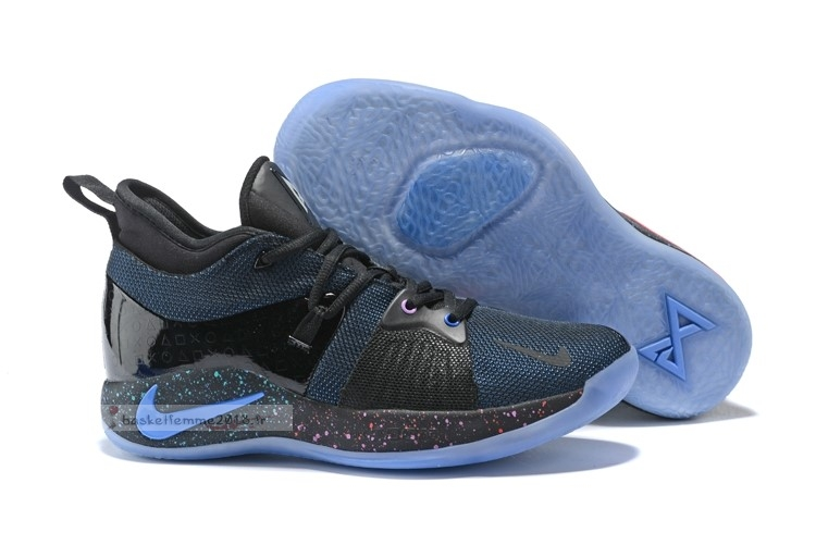 "Nike Pg 2 ""Playstation"" Noir Marine (at7815-002) Chaussure de Basket"