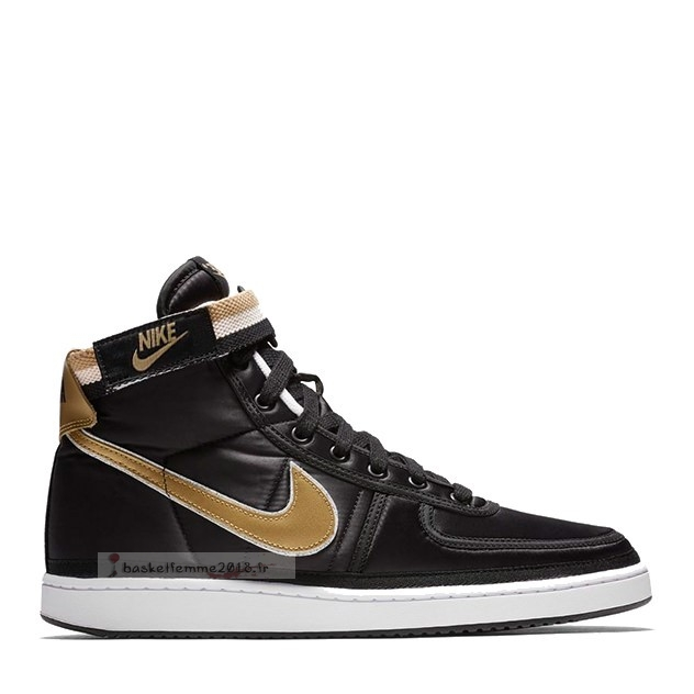 "Nike Vandal Supreme ""Black & Metallic Gold"" Noir Métallique Or (ah8652-002) Chaussure de Basket"