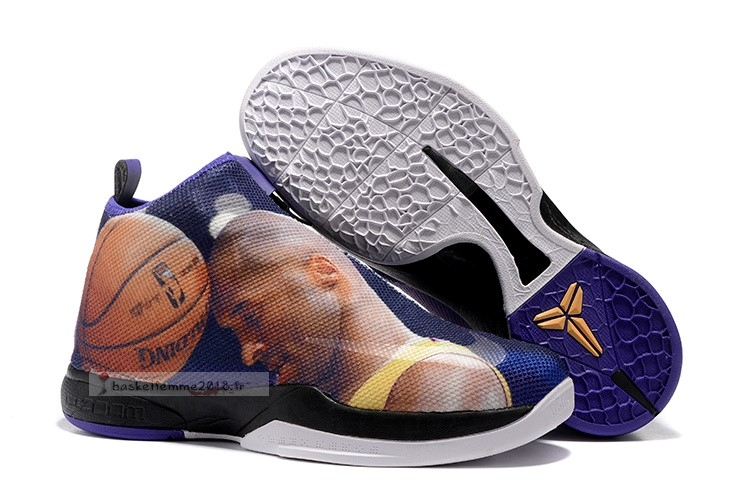 "Nike Zoom Kobe Icon ""Easter"" Pourpre Chaussure de Basket"