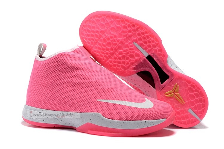 Nike Zoom Kobe Icon Rose Blanc Chaussure de Basket