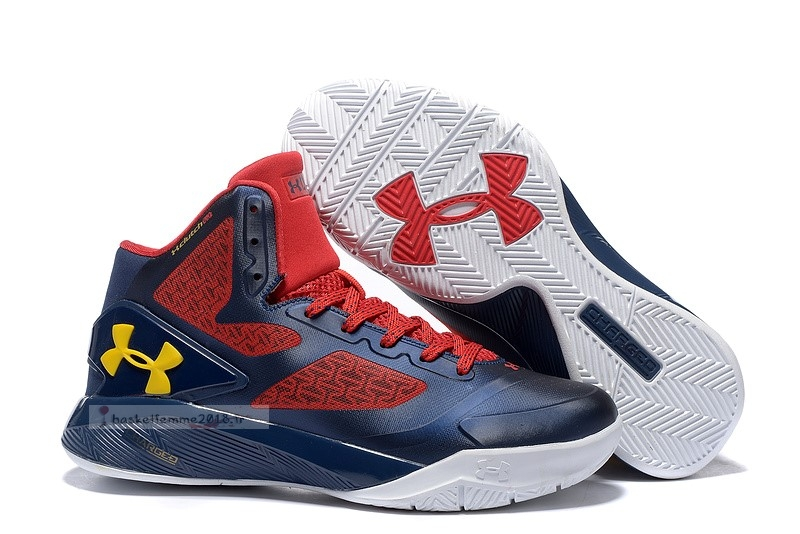 Under Armour Clutchfit Drive 2 Marine Rouge Blanc Chaussure de Basket