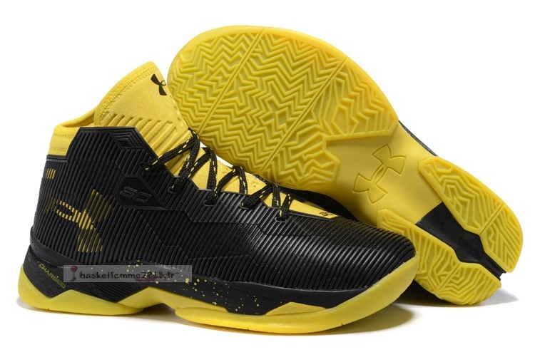 "Under Armour Curry 2.5 ""Noir Taxi"" Noir Chaussure de Basket"