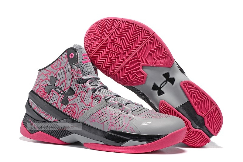 "Under Armour Curry 2 ""Mothers Day"" Rose Chaussure de Basket"