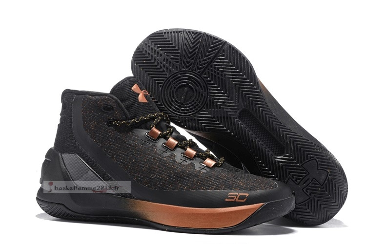 "Under Armour Curry 3 ""All Star Brass Band"" Noir Chaussure de Basket"