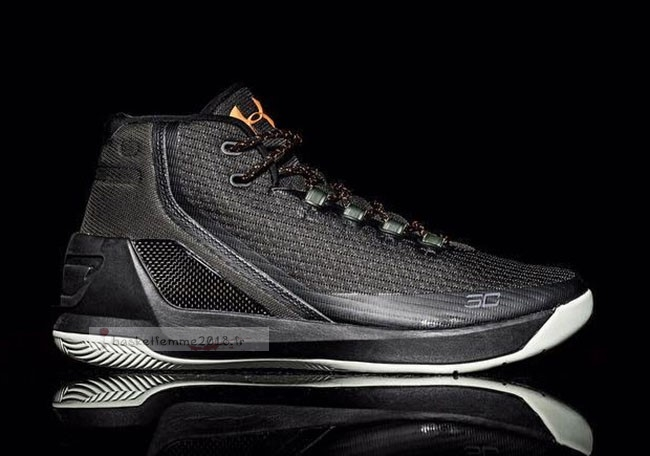 Under Armour Curry 3 Noir Or Chaussure de Basket