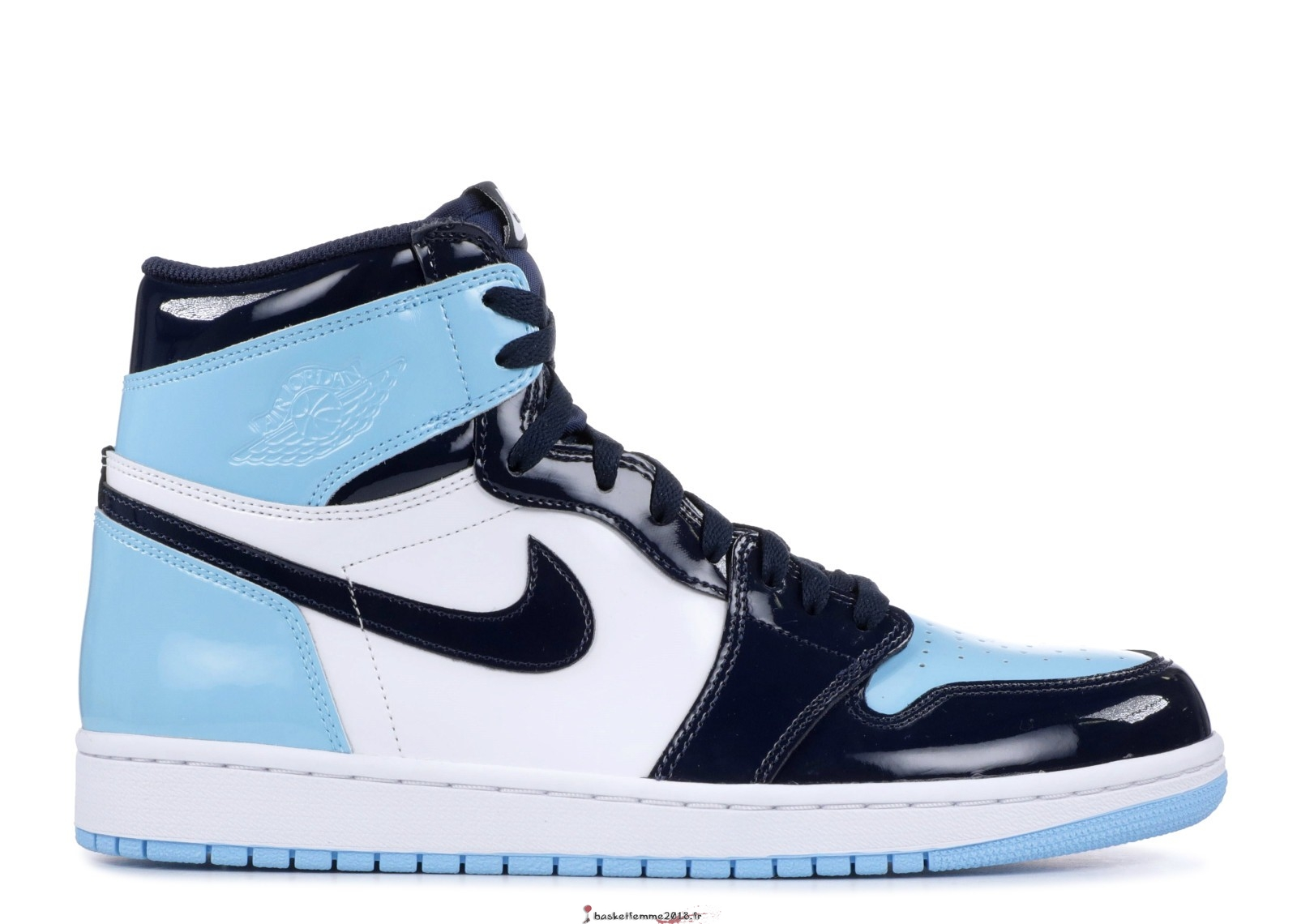 "Air Jordan 1 Femme Retro High Og""Unc Patent"" Bleu (CD0461-401) Chaussure de Basket"