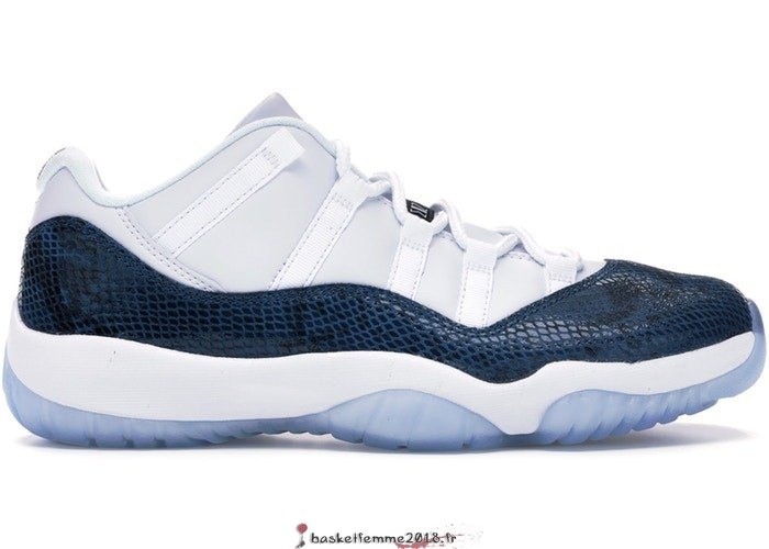 Air Jordan 11 Homme Retro Low Snake 2019 Marine (CD6846-102) Chaussure de Basket