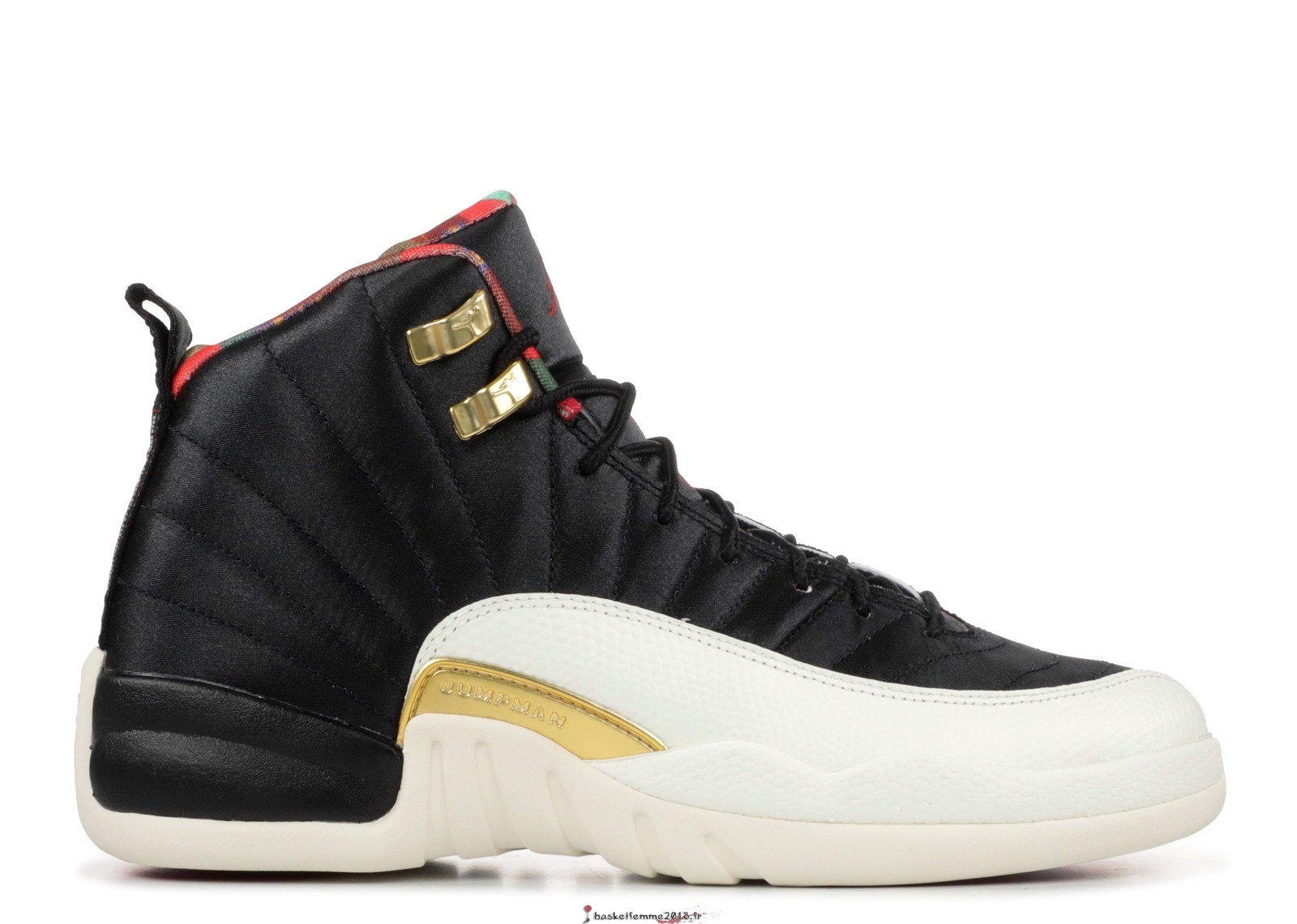 Air Jordan 12 Retro Cny (GS) Chinese New Year Noir (BQ6497-006) Chaussure de Basket