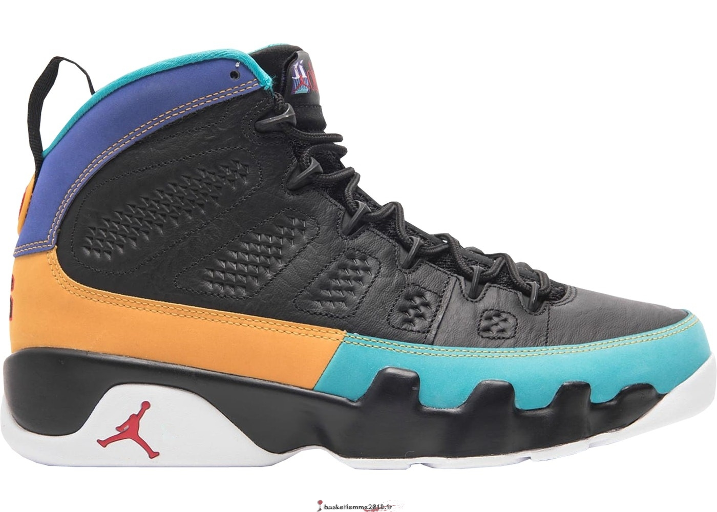 Air Jordan 9 Homme Retro Dream It Do It Noir (302370-065) Chaussure de Basket
