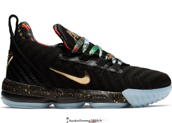 Nike Lebron XVI 16 (PS) Watch The Throne Noir (CJ6707-001) Chaussure de Basket