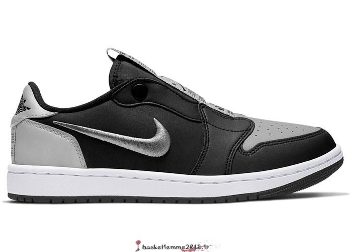 "Air Jordan 1 Femme Low Slip ""Shadow"" Noir Gris (CQ0279-001) Chaussure de Basket"