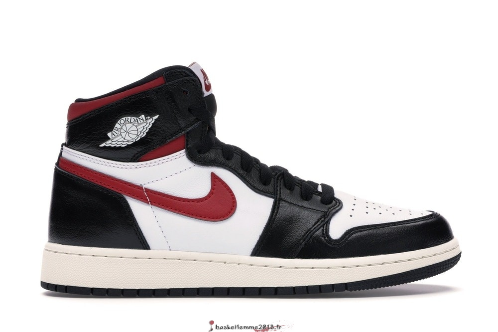 Air Jordan 1 High Retro (GS) Noir Rouge (575441-061) Chaussure de Basket