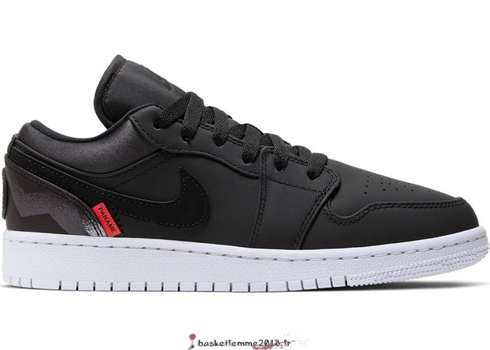 "Air Jordan 1 Low (GS) ""Psg Paris Saint Germain"" Noir (CN1077-001) Chaussure de Basket"