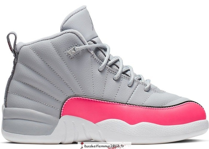 Air Jordan 12 Retro (PS) Gris Rose (510816-060) Chaussure de Basket
