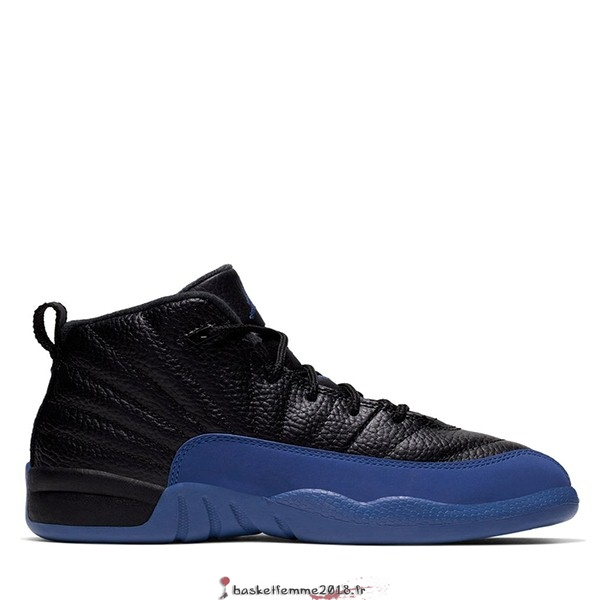 Air Jordan 12 Retro (PS) Noir Royal (151186-014) Chaussure de Basket