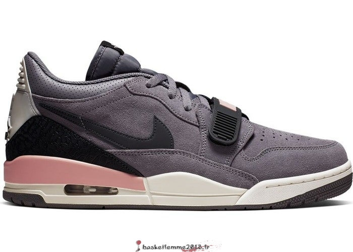 "Air Jordan Legacy 312 Homme Low ""Gunsmoke Coral Stardust"" Gris (CD7069-002) Chaussure de Basket"