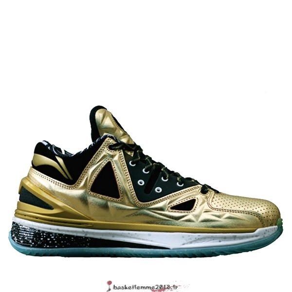 "Li Ning Way Of Wade 2.5 Homme ""Encore Orrush"" Or (ABAJ003-12) Chaussure de Basket"
