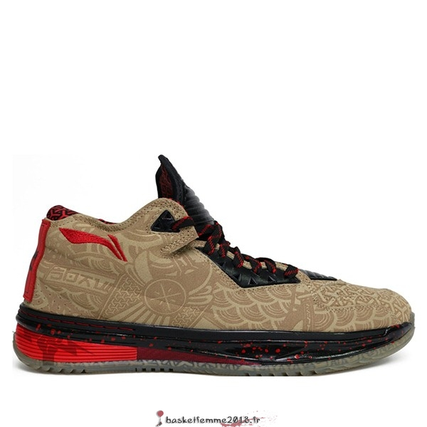"Li Ning Way Of Wade 2 Homme ""Year Of The Horse"" Jaune (ABAH017-11) Chaussure de Basket"