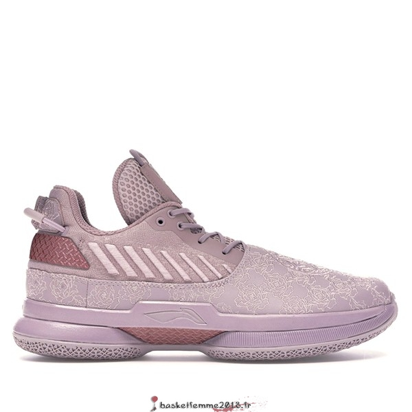"Li Ning Way Of Wade 7 Homme ""All Star"" 2019 Pourpre (ABAN079-10) Chaussure de Basket"