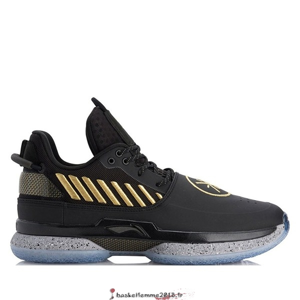 "Li Ning Way Of Wade 7 Homme ""First Born"" Noir (ABAN079-7) Chaussure de Basket"