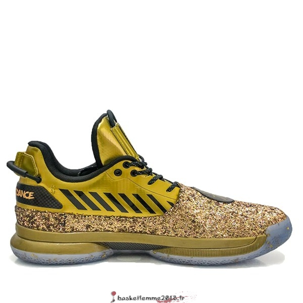 "Li Ning Way Of Wade 7 Homme ""One Last Dance Home"" Or (ABAN079-27) Chaussure de Basket"