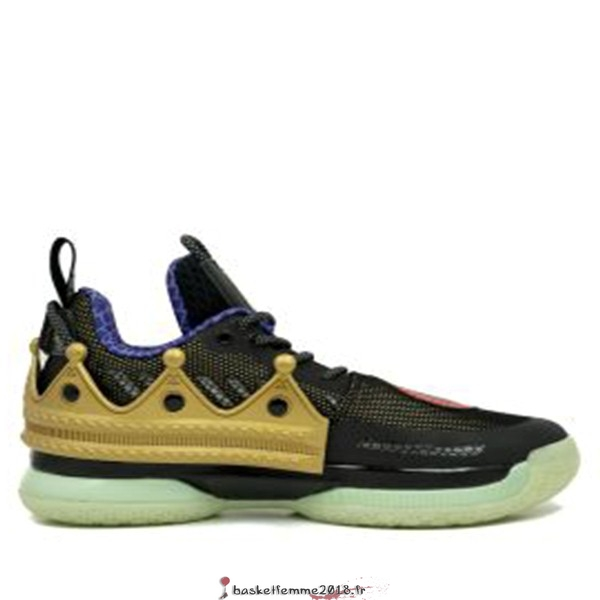 "Li Ning Way Of Wade 7 Homme ""Rick Ross"" Noir Or (TBD) Chaussure de Basket"