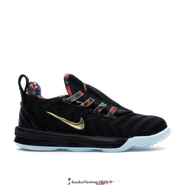 "Nike Lebron XVI 16 (TD) ""Watch The Throne"" Noir (CJ6708-001) Chaussure de Basket"