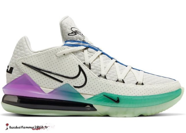 "Nike Lebron 17 Low ""Glow In The Sombre"" Multicolore (CD5007-005) Chaussure de Basket"