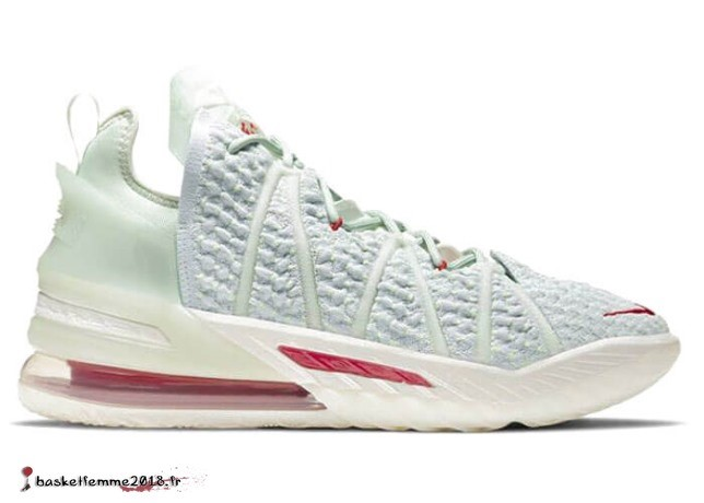 "Nike LeLa Source 18 ""Empire Jade"" Blanc Rouge (DB7644-002) Chaussure de Basket"