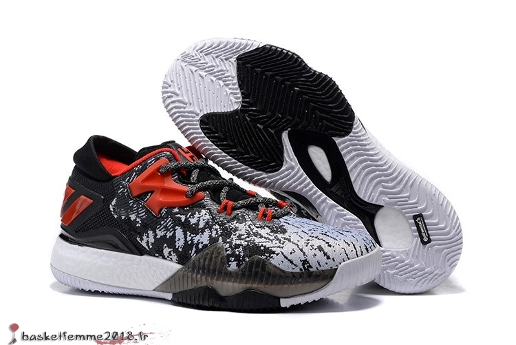 Adidas Crazylight James Harden Homme Blanc Noir Rouge Chaussure de Basket