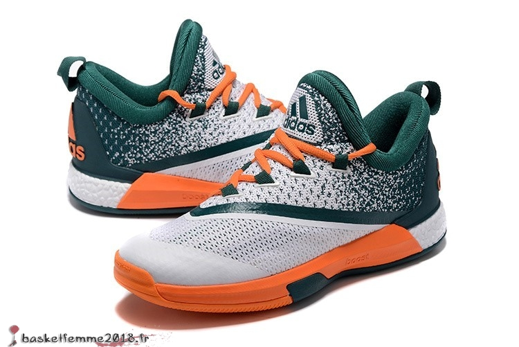 promo code d669f 34a70 ... Adidas Crazylight James Harden Homme Blanc Vert Orange Chaussure de  Basket ...
