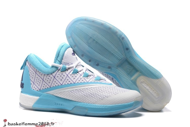 Adidas Crazylight James Harden Homme Bleu Blanc Chaussure de Basket