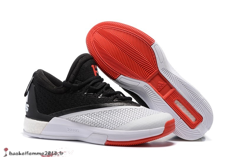sneakers for cheap 3ec03 7dbb1 Adidas Crazylight James Harden Homme Noir Blanc Rouge Chaussure de Basket