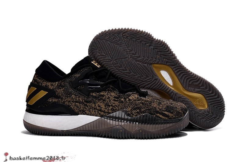 Adidas Crazylight James Harden Homme Noir Or Chaussure de Basket