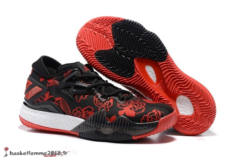 Adidas Crazylight James Harden Homme Noir Rouge Chaussure de Basket