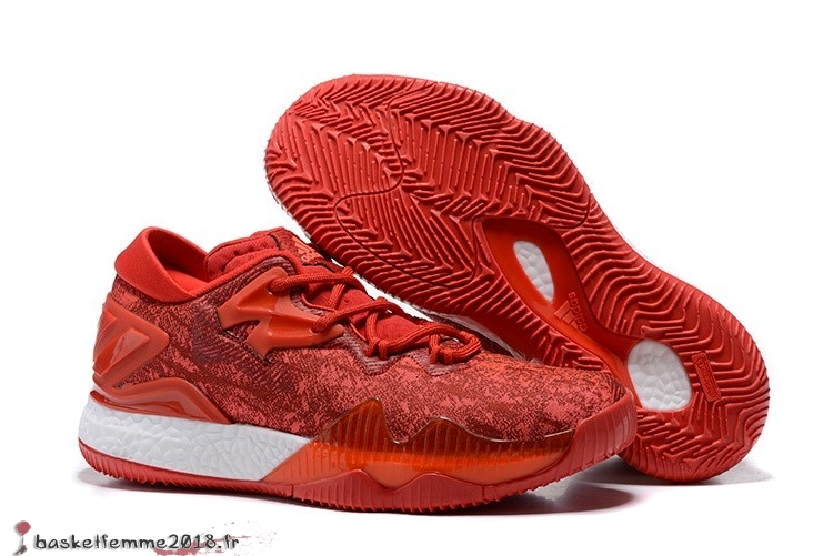 Adidas Crazylight James Harden Homme Rouge Chaussure de Basket