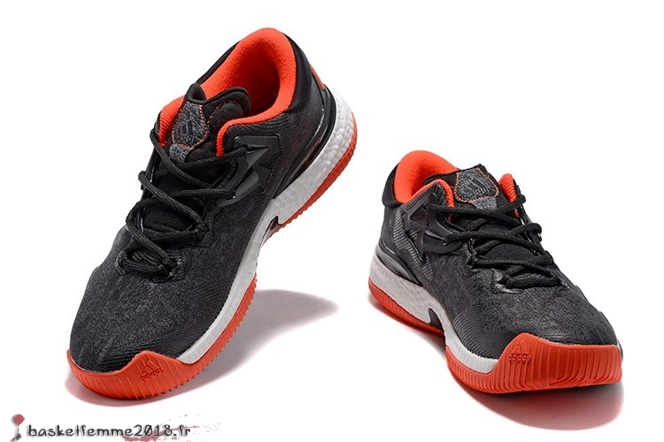 new concept adc90 3d89b ... Adidas Crazylight James Harden Homme Rouge Noir Blanc Chaussure de  Basket ...