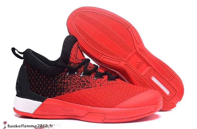 Adidas Crazylight James Harden Homme Rouge Noir Chaussure de Basket