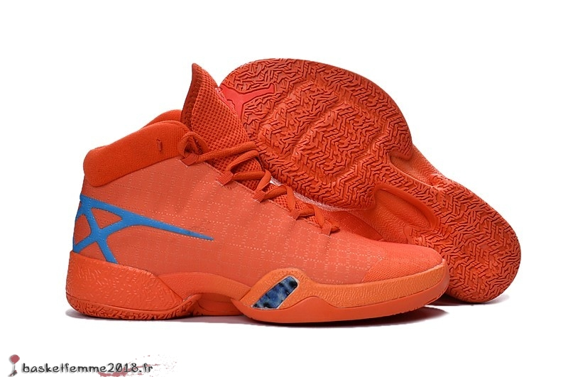 Air Jordan 30 Homme Orange Chaussure de Basket