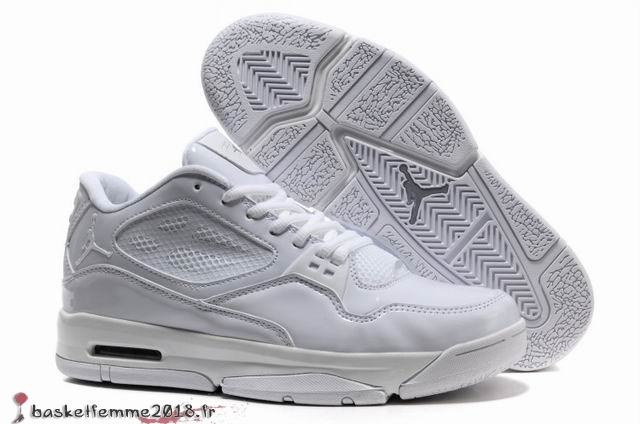 Air Jordan Flight Homme Blanc Chaussure de Basket